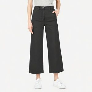 Everlane wide leg crop, 0 short